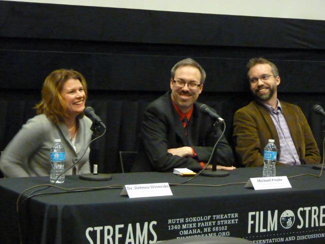 Discussion panel after the documentary, 'World Peace and Other Fourth Grade Achievements' at Film Streams